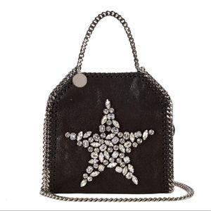 Stella McCartney Falabella Crystal Shoulder Bag